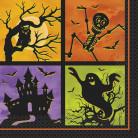 20 tovaglioli di carta festa di Halloween
