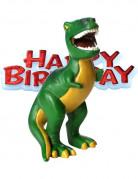 Statuina resina dinosauro compleanno