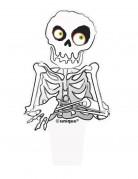 Confezione 12 decorazioni scheletro per dolci