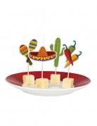 12 stuzzicadenti a tema messicano