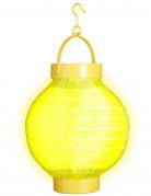Lanterna luminosa gialla 15 cm