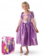 Costume deluxe da Rapunzel con cofanetto per bambina