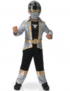 Costume per bambino 3D Power rangers™ Silver Super mega force