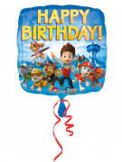 Palloncino in alluminio Happy Birthday Paw Patrol™ 43cm