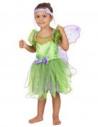 Costume da fatina per bambina: con fascia e ali