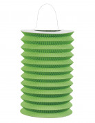 Lanterna cinese di carta verde