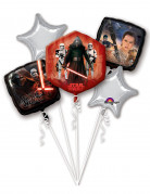 Set 5 palloncini in alluminio Star Wars VII™