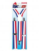 Bretelle tricolore francese