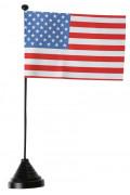 Bandiera degli Stati Uniti da tavola