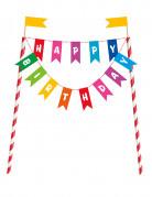 Decorazione per torte Happy Birthday