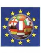 20 tovaglioli Europei 2016