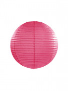 Lanterna giapponese fucsia 25 cm