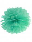 Ponpon color menta da appendere 35 cm