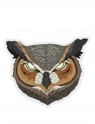 Maschera di carta da gufo