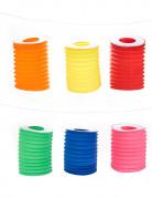 Set di 12 lanterne colorate in carta