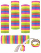 5 serpentine multicolori di carta