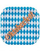 Lotto di 6 piatti Oktoberfest in cartone