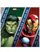 Lotto di 20 tovaglioli Avengers Power™ 33cm