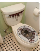 Adesivo per decorare tavoletta wc