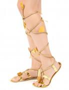 Sandali romani con cordoncino da donna