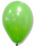 50 palloncini in lattice verdi