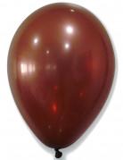 50 palloncini marroni metallizzati