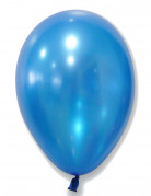 50 palloncini blu metallizzati