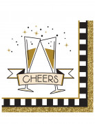 16 tovagliolini di carta Cheers
