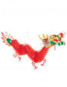 Decorazione drago rosso Capodanno cinese