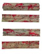 Decorazione barriere epidemia per finestre zombie