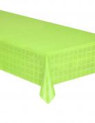 Tovaglia di carta in rotolo effetto damascato verde acido