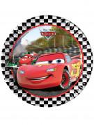 8 piatti di carta di Cars Formula™ 23 cm