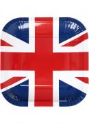 10 piatti quadrati Regno Unito