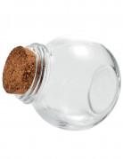 Boccale di vetro con tappo