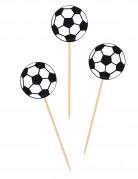 20 stecchini con pallone di calcio