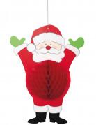 Decorazione di carta da appendere Babbo Natale