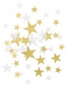 Coriandoli stelle color oro e bianco