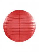 Lanterna giapponese rossa da 35 cm