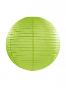 Lanterna giapponese verde mela 35 cm