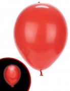 5 palloncini rossi con LED illooms™