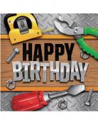 16 tovaglioli Happy Birthday Bricolage
