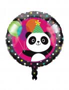 Palloncino di alluminio Happy Birthday Panda Party