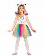 Costume unicorno colorato per bambina