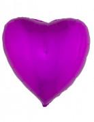 Palloncino di alluminio cuore fucsia 45 cm