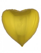 Palloncino in alluminio cuore dorato 76 cm