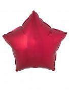 Palloncino di alluminio stella rossa