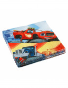 20 tovagliolini di carta Blaze e le mega macchine™ 33x33 cm