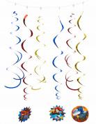 6 decorazioni a spirale Blaze e le mega macchine™