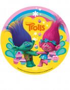Disco di zucchero Trolls™ 16 cm
