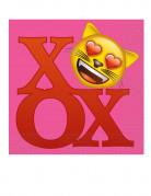 20 tovaglioli di carta Emoji™ con cuori